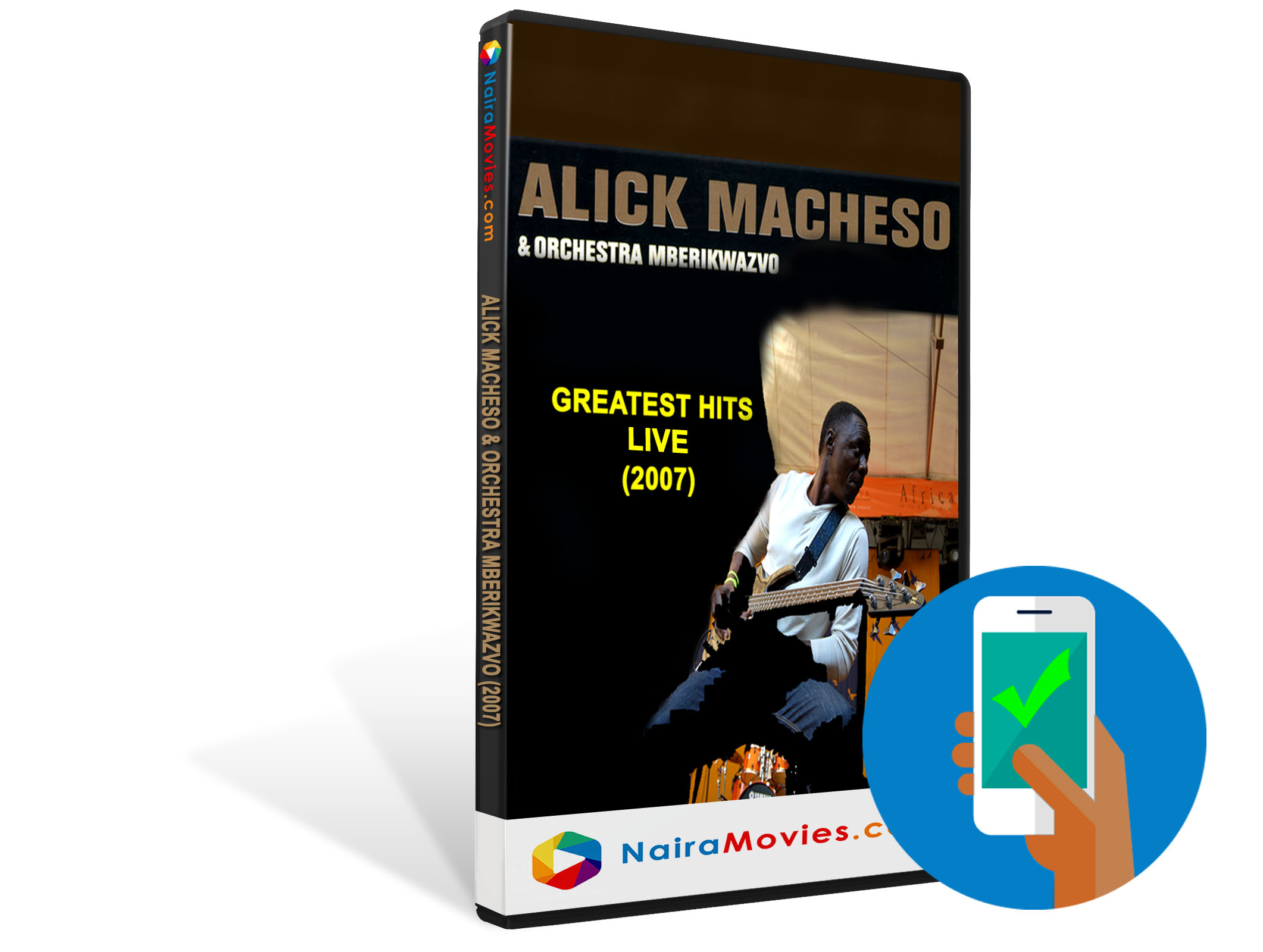 Alick Macheso & Orchestra Mberikwazvo - Greatest Hits Live(2007)